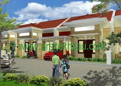 Desain Perumahan Pondok Impian Residence, Jatiasih Bekasi – Pak Ary