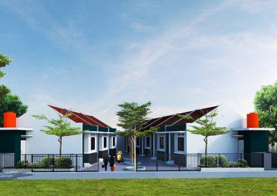 Desain Kontrakan Pak Iman Pondok Kelapa