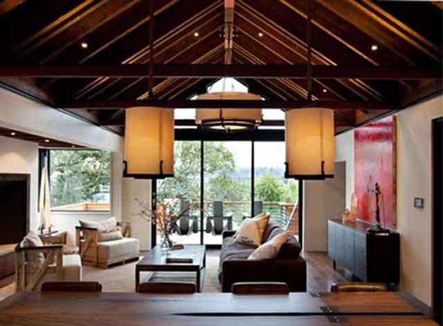 Desain Interior Rumah Klasik Kontemporer
