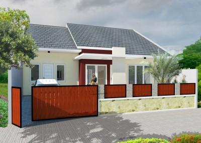 Desain Rumah Dan Gambar Kerja Bpk. Ivan Afrianto – Kranji
