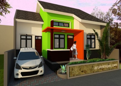 Pembangunan RUMAH HIJAU CORP Di Cilodong