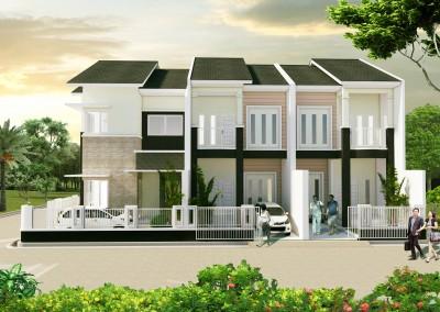 Bpk. H. Firman – Kunciran Indah – Tangerang. Order Jasa Arsitek Untuk Desain 3 Rumah