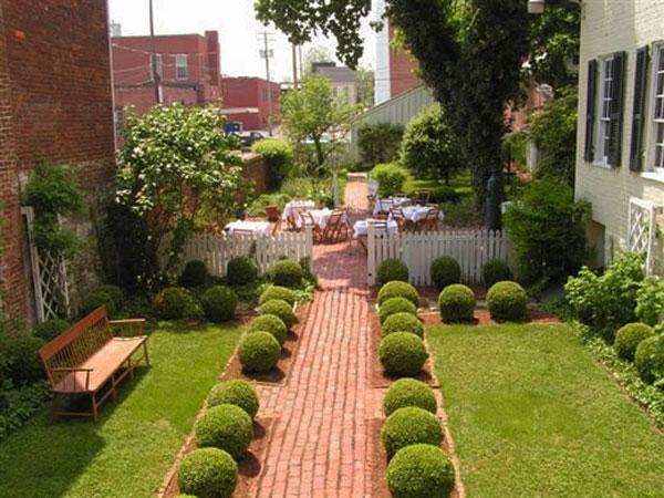 Membuat taman yang mengesankan