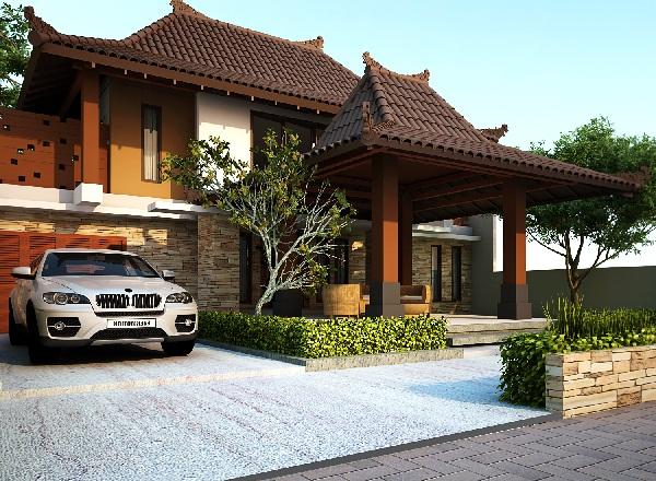 Desain Rumah Jawa Modern Arsitekhijau