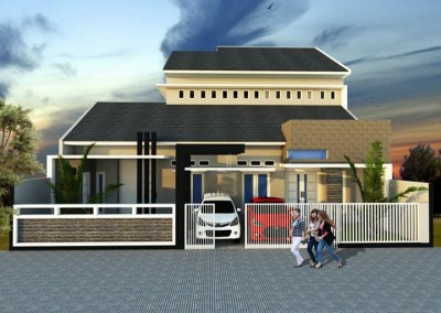 Desain Renovasi 2 Rumah Jadi 1 Tanpa Banyak Bongkaran