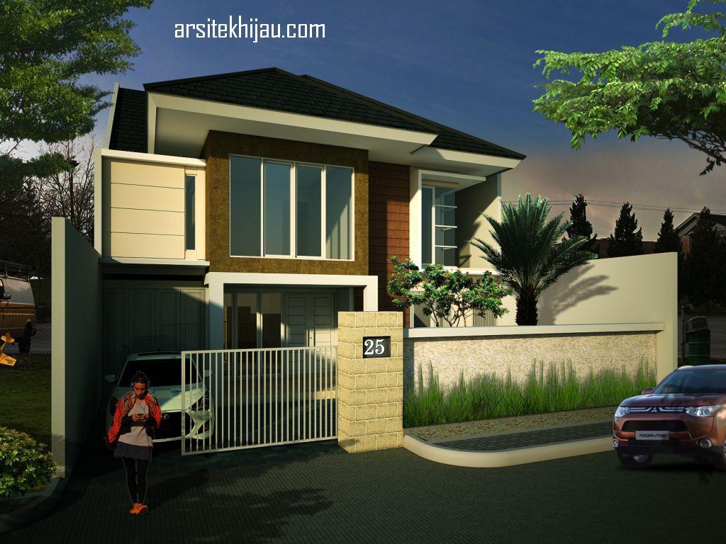 desain renovasi rumah 1 menjadi 2 lantai di rawamangun