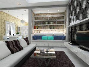 desain ruang keluarga 2