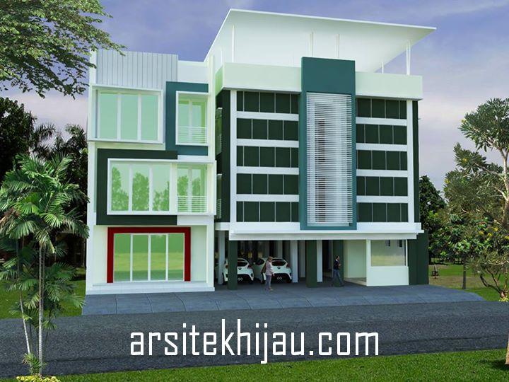 Desain Ruko, Kos dan Kontrakan 3 Lantai Project dari Bpk. Agu