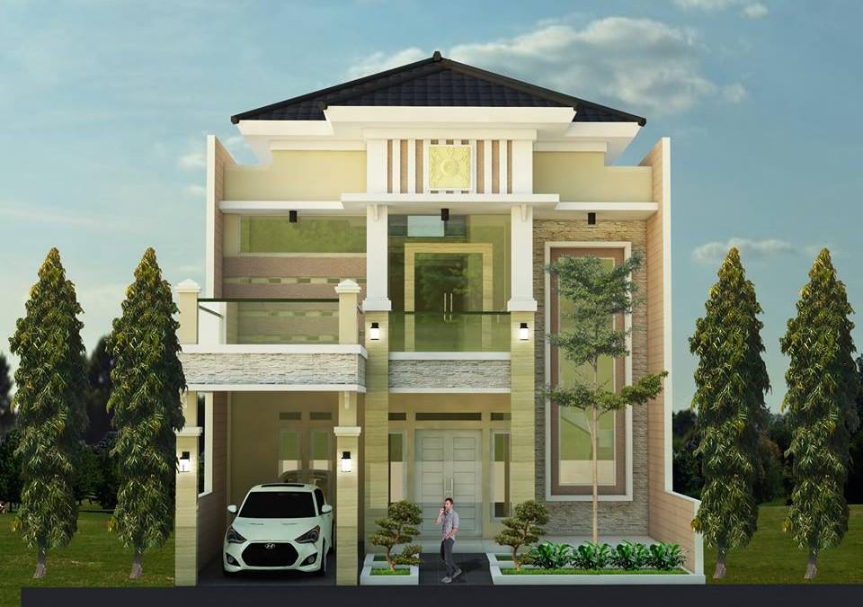 Desain Rumah Mewah Klasik Bu Citra