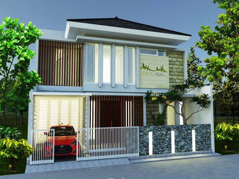 Desain Rumah Bu Debi di Jati Sampurna