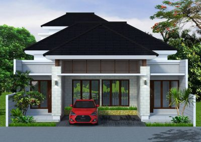 Desain Rumah Bu Etika, di Bima Duta – Bekasi